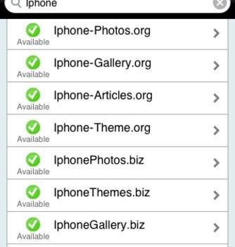 DomainsBot Ekran Görüntüleri - 2