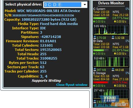 Drives Monitor Ekran Görüntüleri - 2