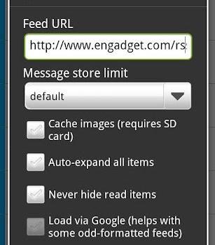 FeedR News Reader Ekran Görüntüleri - 1