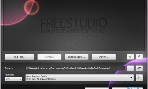 Free Audio to Flash Converter Ekran Görüntüleri - 1