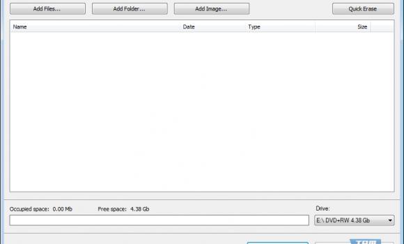 Free Disc Burner Ekran Görüntüleri - 1