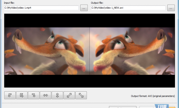 Free Video Flip and Rotate Ekran Görüntüleri - 1