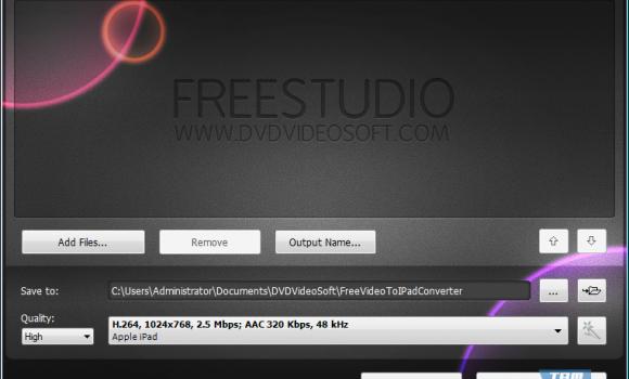 Free Video to iPad Converter Ekran Görüntüleri - 1