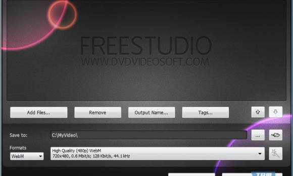 Free WebM Video Converter Ekran Görüntüleri - 1