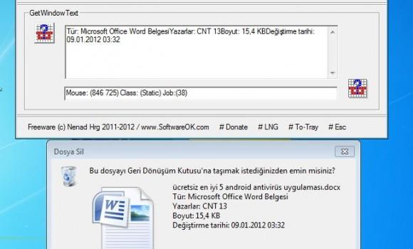 Get Window Text Ekran Görüntüleri - 1