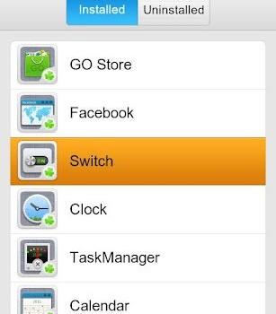 GO Switch Widget Ekran Görüntüleri - 5