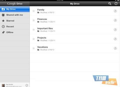Google Drive Ekran Görüntüleri - 3