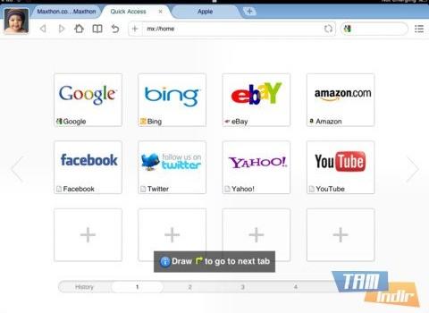 Maxthon Web Browser Ekran Görüntüleri - 3