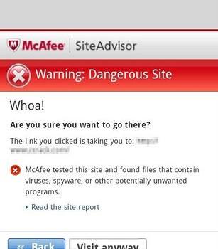 McAfee Antivirus & Security Ekran Görüntüleri - 2