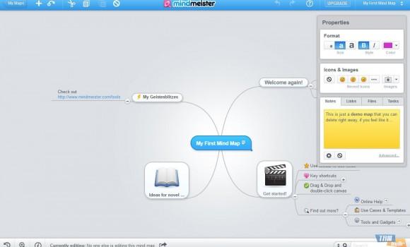 MindMeister Ekran Görüntüleri - 2