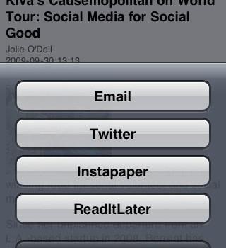 MobileRSS Ekran Görüntüleri - 2