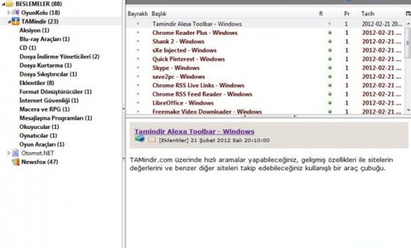 NewsFox Ekran Görüntüleri - 1