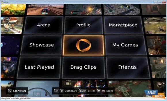 OnLive Ekran Görüntüleri - 2