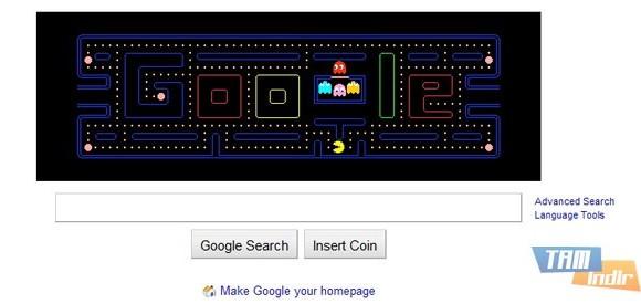 Google Pac-Man Ekran Görüntüleri - 1
