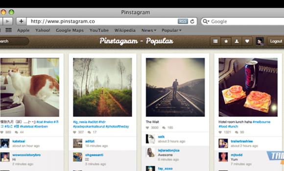 Pinstagram.co Ekran Görüntüleri - 1
