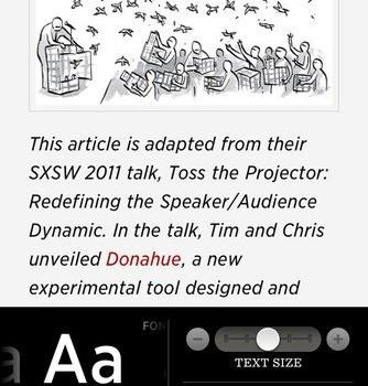 Readability Ekran Görüntüleri - 3