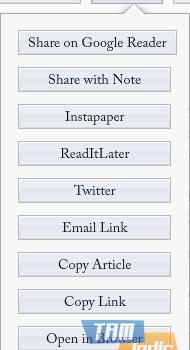 Readefine Desktop Ekran Görüntüleri - 1
