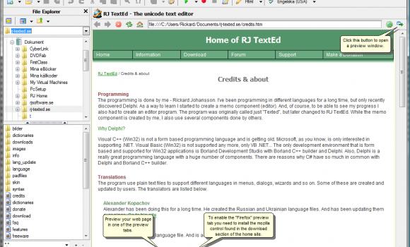 RJ TextEd Ekran Görüntüleri - 4