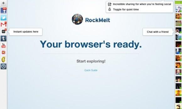 RockMelt Ekran Görüntüleri - 1