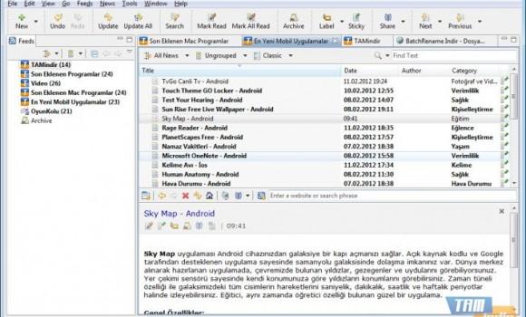 RSSOwl Ekran Görüntüleri - 2