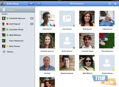 Skype For iPad Ekran Görüntüleri - 2
