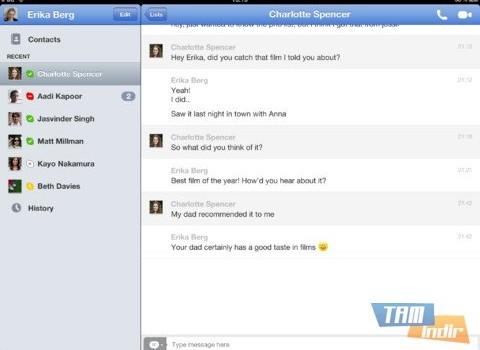 Skype For iPad Ekran Görüntüleri - 1