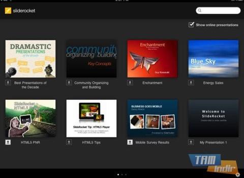 SlideRocket Ekran Görüntüleri - 3