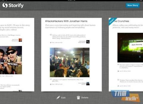 Storify Ekran Görüntüleri - 2