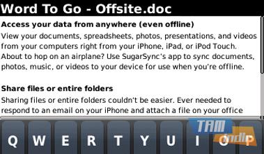 SugarSync Ekran Görüntüleri - 1