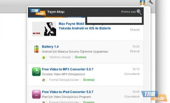 Tamindir Chrome Yayın Akışı Eklentisi Ekran Görüntüleri - 2