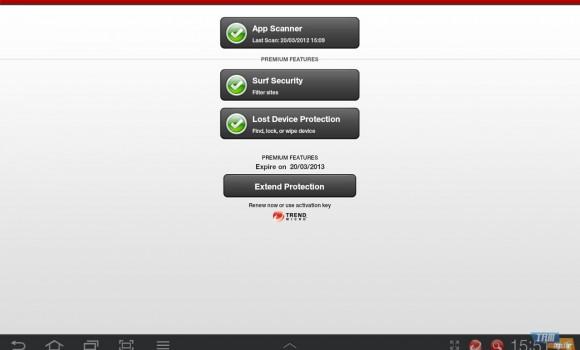 Trend Micro Mobile Security Ekran Görüntüleri - 2