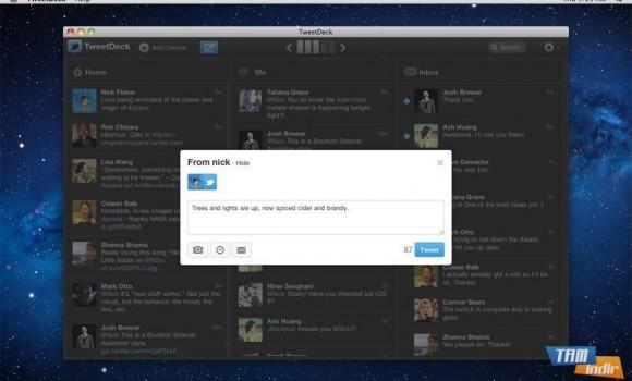 TweetDeck Ekran Görüntüleri - 2