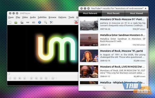 UMPlayer Ekran Görüntüleri - 1