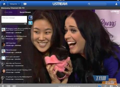Ustream Ekran Görüntüleri - 1