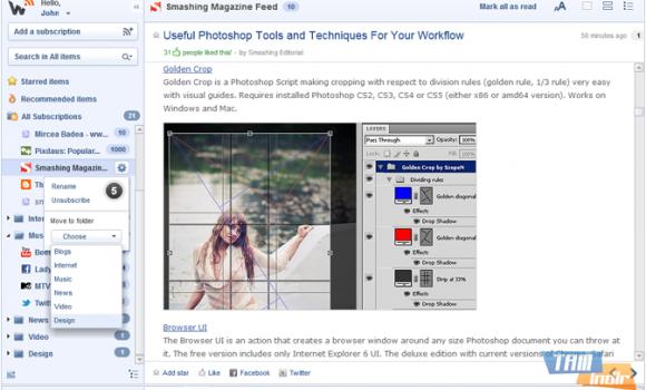 Web Reader Ekran Görüntüleri - 3