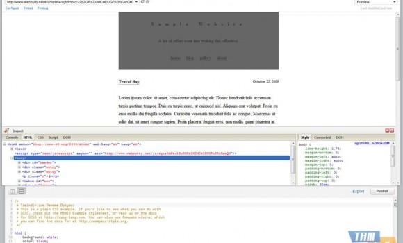Webputty Ekran Görüntüleri - 1