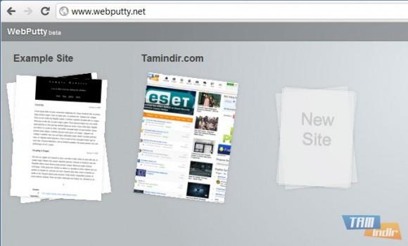 Webputty Ekran Görüntüleri - 2