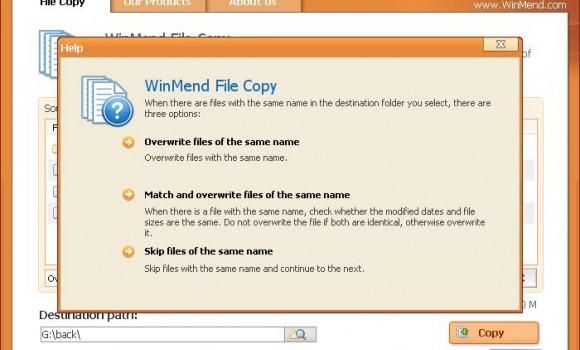 WinMend File Copy Ekran Görüntüleri - 2