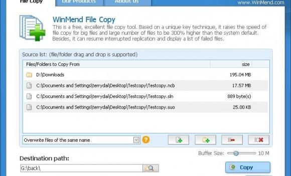 WinMend File Copy Ekran Görüntüleri - 3