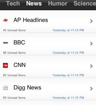 xFeed RSS Reader Ekran Görüntüleri - 2