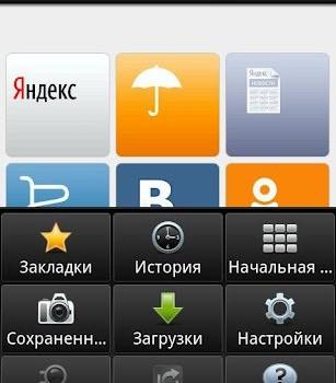 Yandex Opera Mobile Ekran Görüntüleri - 2