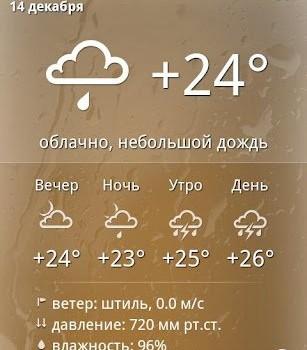 Yandex.Weather Ekran Görüntüleri - 1