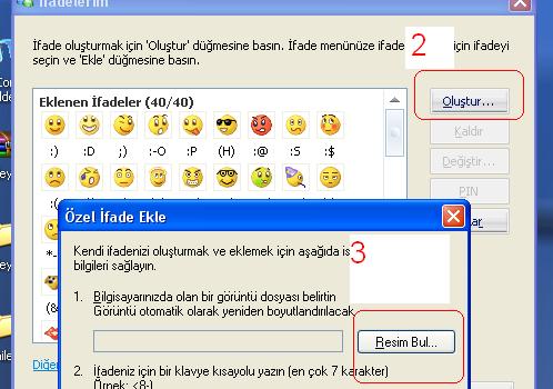 Msn Messenger Komik Smiley Ekran Görüntüleri - 1