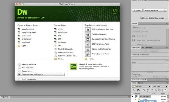 Adobe Dreamweaver Ekran Görüntüleri - 5