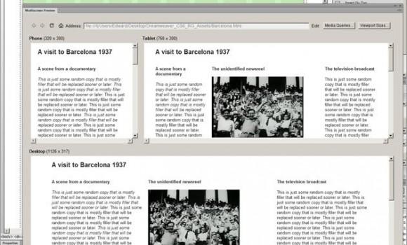 Adobe Dreamweaver Ekran Görüntüleri - 2