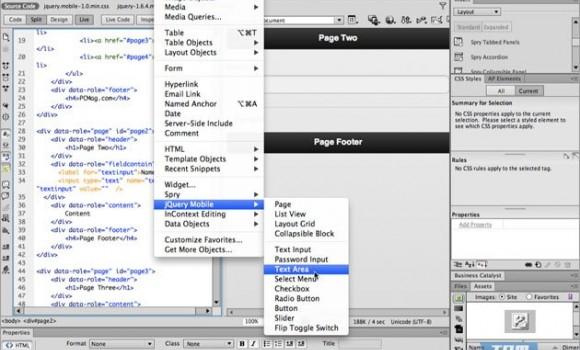 Adobe Dreamweaver Ekran Görüntüleri - 1