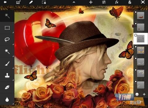 Adobe Photoshop Touch Ekran Görüntüleri - 4