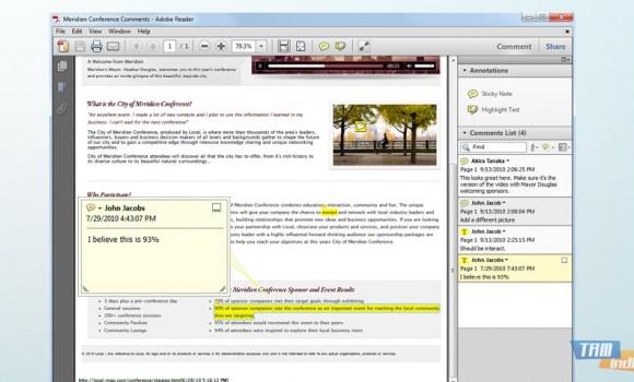 Adobe Reader X Ekran Görüntüleri - 1