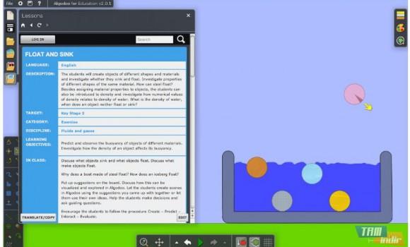 Algodoo Ekran Görüntüleri - 4