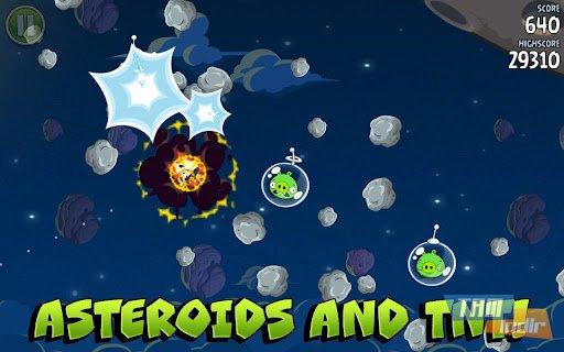 Angry Birds Space Ekran Görüntüleri - 3